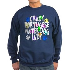 Crazy Portugese Water Dog Lady Sweatshirt