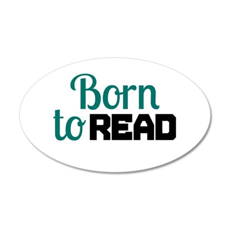 Born to Read Wall Decal