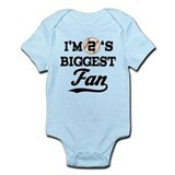 Baseball Fan Player Number 2 Onesie