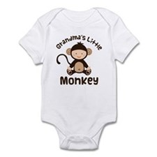 Grandma Grandchild Monkey Infant Bodysuit
