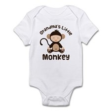 Grandma Grandchild Monkey Onesie