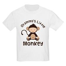 Grammy Grandchild Monkey T-Shirt