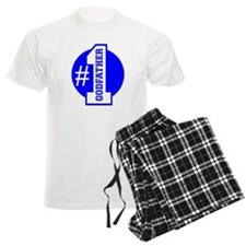 Number 1 Godfather (Blue) Pajamas