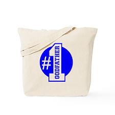 Number 1 Godfather (Blue) Tote Bag