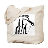 Evolution to Scuba Tote Bag
