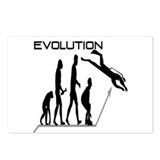 Evolution to Scuba Postcards (Package of 8)