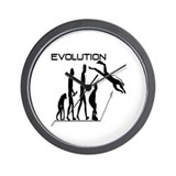 Evolution to Scuba Wall Clock