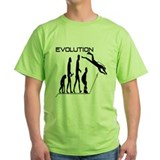 Evolution to Scuba T-Shirt