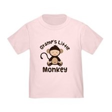 Gramps Grandchild Monkey T