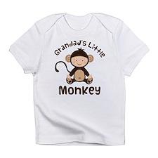 Grandad Grandchild Monkey Infant T-Shirt