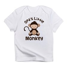 Opa Grandchild Monkey Infant T-Shirt