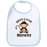 Opa Grandchild Monkey Bib