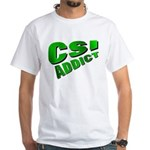 CSI White T-Shirt
