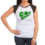 CSI Women's Cap Sleeve T-Shirt