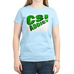 CSI Women's Pink T-Shirt