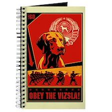 Obey the Vizsla! #2 Journal