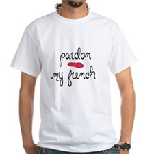 Pardon My French - with beret T-Shirt