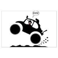 Baja-Bug-Wheelie-Posters