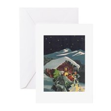 Cute X Greeting Cards (Pk of 10)