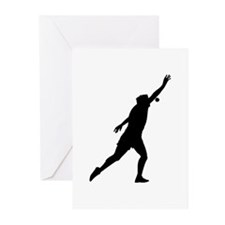 Shot Put Greeting Cards (Pk of 20)