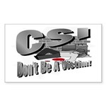 CSI Rectangle Sticker