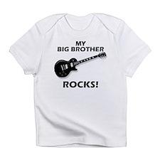 My Big Brother Rocks Infant T-Shirt