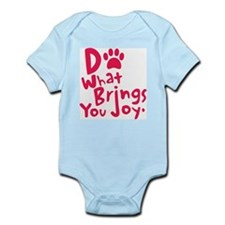 Do What Brings You Joy, Red Infant Bodysuit