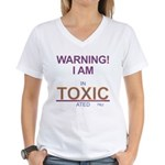 Toxically intoxicated Women's V-Neck T-Shirt