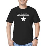 grab star wht T-Shirt