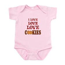 Love Love Cookies Infant Bodysuit