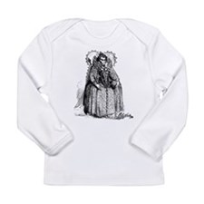 Queen Elizabeth I Illustration Long Sleeve Infant