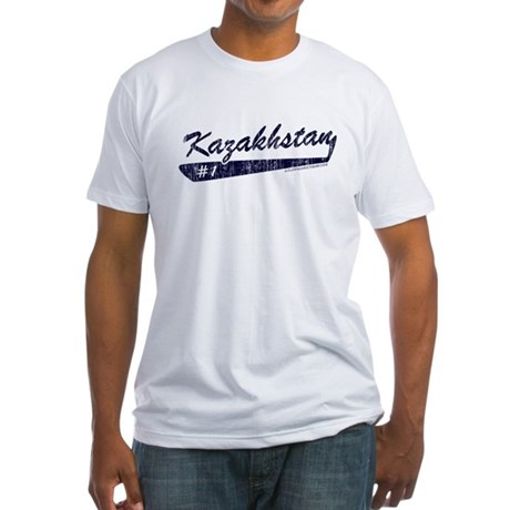 Team Kazakhstan Fitted T-Shirt