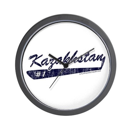 Team Kazakhstan Wall Clock