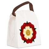 tudor-rose2.png Canvas Lunch Bag