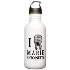 I Love (Wig) Marie Antoinette Water Bottle
