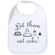 Sweet Let Them Eat Cake Bib