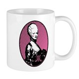 Oval Marie Antoinette Pop Art Mug
