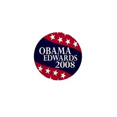 Obama-Edwards 2008 Mini Button