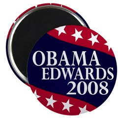 Obama-Edwards 2008 Magnet