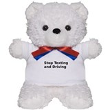 Stop Texting and Driving Teddy Bear