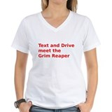 Text and Drive meet the Grim Reaper T-Shirt