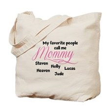 Mommy personalized kids Tote Bag