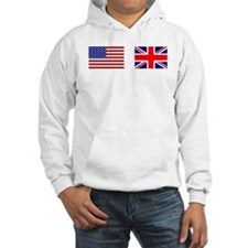 USA / UK Flags Hoodie