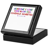 Juvenile Diabetes Keepsake Box