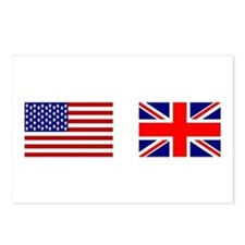 USA & Union Jack Postcards (Package of 8)
