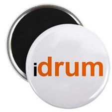 I Drum (orange) Magnet