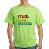peace love ospreys darks T-Shirt