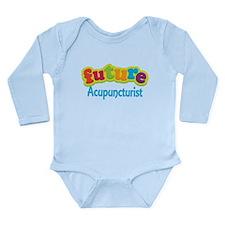 Future Acupuncturist Long Sleeve Infant Bodysuit
