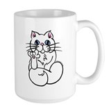 Longhair ASL Kitty Mug