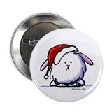 Holiday Dust Bunny 2.25&quot; Button